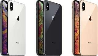 iPhone XS iPhone XS Max [Local Telco Set]