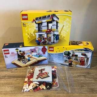 *4 sets* MISB Lego Special Edition Theme Bundle