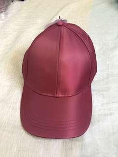 RUBI maroon cap