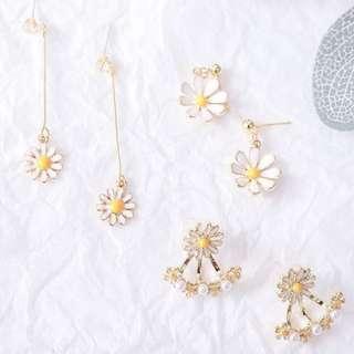 🚚 Daisy Floral earrings PO Coachella