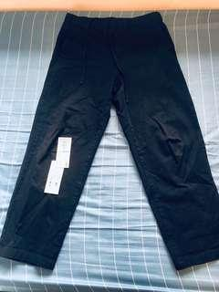 MUJI寬版褲