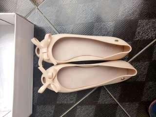 Staccato pink jelly shoes
