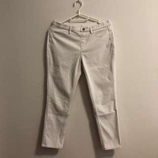 🚚 Uniqlo White Pants