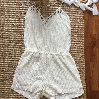 Anthropologie jumpsuit romper XS