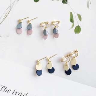 🚚 Minimalistic Yanxi palace colours earrings PO