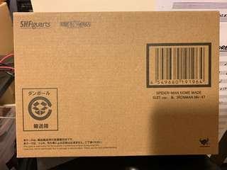 SHF Home made suit spider-man + Ironan Mk 47 boxset 全新未開盒