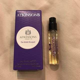 Atkinson' London 1799 The British Bouquet EDT 2ml