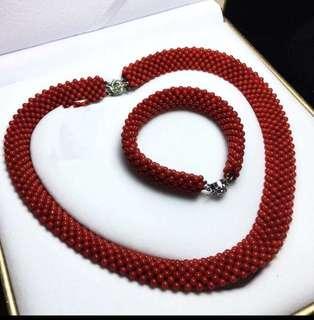 天然紅珊瑚,可附臺灣證書