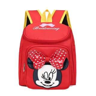 🚚 Large Kids Minnie Mouse Backpack Bag