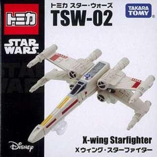 全新有包裝紙盒越南制行貨TomyTomica TSW-02 Star Wars X-Wing Fighter 星球大戰X翼戰鬥機(last one)