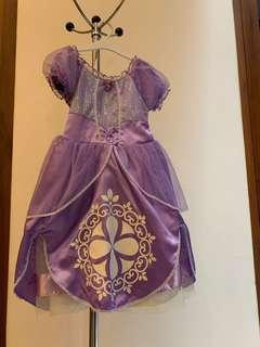 Sophia The First Dress Costume Original from Disney Store USA