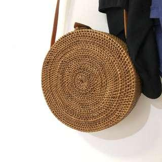 Tas Selempang Rotan / Rattan Bag