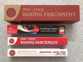 🚚 Baking Paper Series