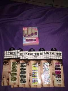 Fake Nails / Kuku Palsu Take All with Nail Stickers