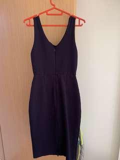 Kiely dress in navy (midi)