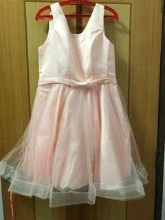 🚚 Light pink bridesmaid dress