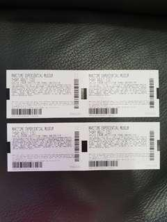 🚚 4 x Maritime Experiential Museum Tickets