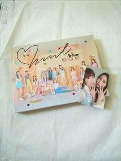 IZONE Yuri MWave Signed Album