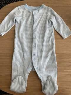 Mothercare Baby Sleepsuit (6-9m) (3 pcs)