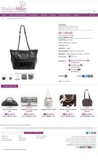🚚 Chanel Paris moscou large tote bag
