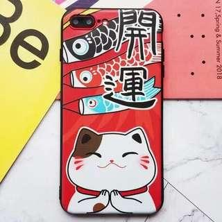🚚 Fortune cat iPhone X covers
