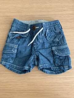 GAP Denim Shorts (0-3m)