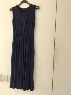🚚 Navy Blue maxi Dress
