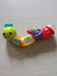 Infantino twistable catterpillar rattle