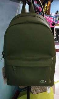 Original lacoste backpack