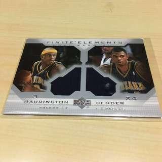 NBA 03年球衣卡 Harrington & Bender