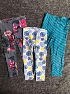 Bundle of Leggings (Carter's, Old Navy, Gymboree)