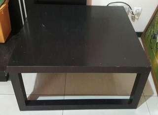 Meja kayu segiempat 80×40