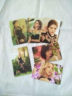 SNSD Oh! GG Khino Album Photocard