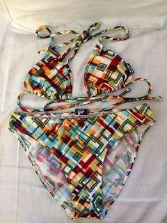 Multi colored Bikini