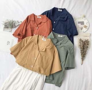 🚚 Basic blouse outerwear
