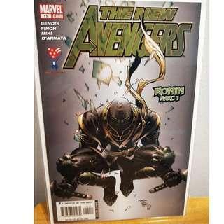 NEW AVENGERS #11 1st Appearance RONIN! NM Hawkeye Endgame Key Issue