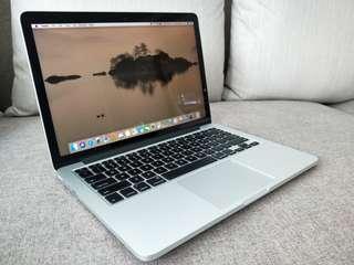 MacBook Pro (Retina, 13 inches, Mid 2014)