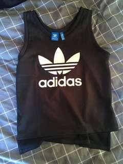 Adidas EQT Black Tank Top Sz S
