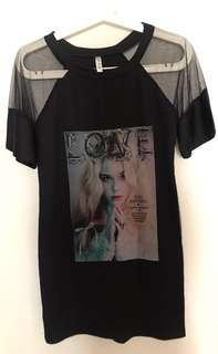 🚚 Mesh tee shirt dress