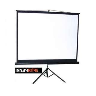 100 inch Tripod Projection Screen