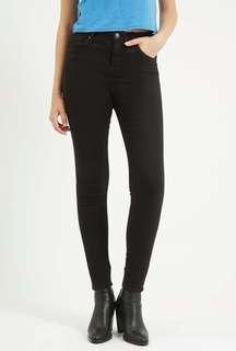 Topshop Black Jamie Jeans Preloved