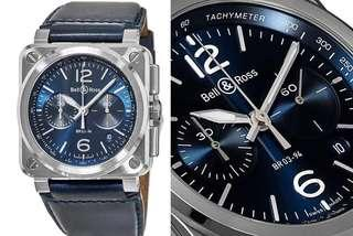 Bell and Ross BR03-94 Blue Steel Chronograph