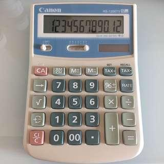 Canon HS-1200TV calculator