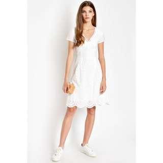 Pippa Eyelet Dress (Love & Bravery)