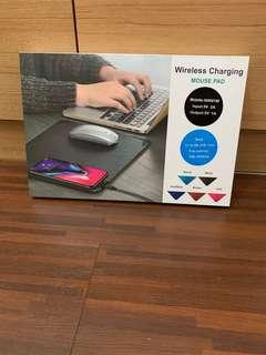 Wireless Charging Mouse Pad BNIB