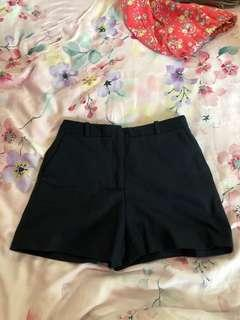 Zara Shorts navy blue