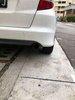 honda fit/jazz mugen exhaust