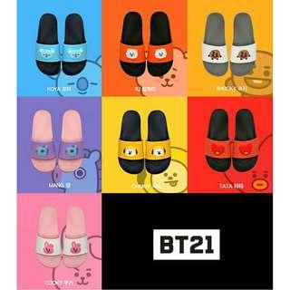 [PO] BT21 Silicon Slippers