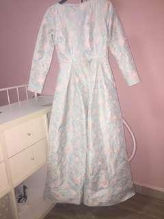 🚚 Zalia Brocade dress