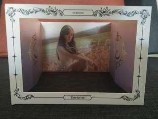 GFRIEND TIME FOR US SINB POP UP CARD STANDEE